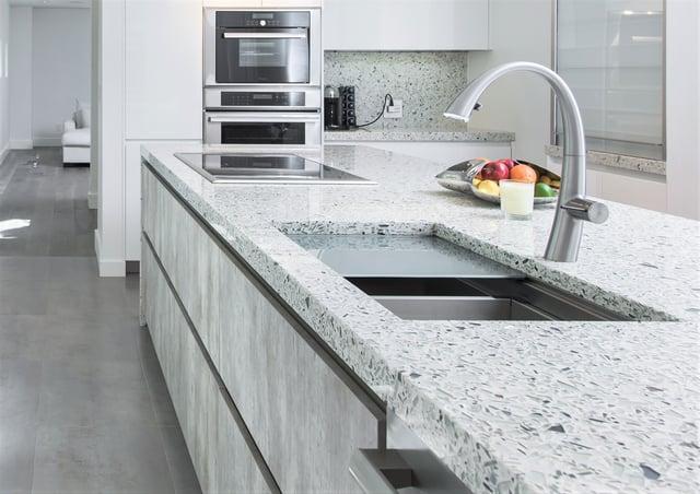 The White Quartz Alternative 5 Neutral Countertops That Sparkle