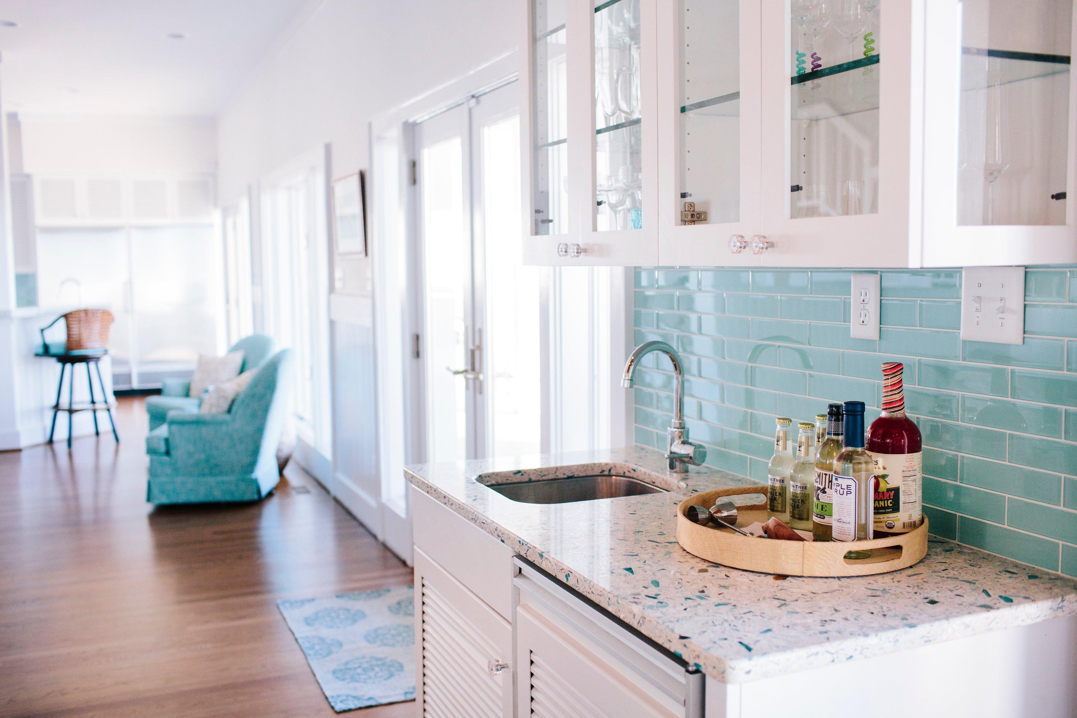 Vetrazzo-Recycled-Glass-Bretagne-Blue-Kitchen-Countertops-Gathered-Design-2