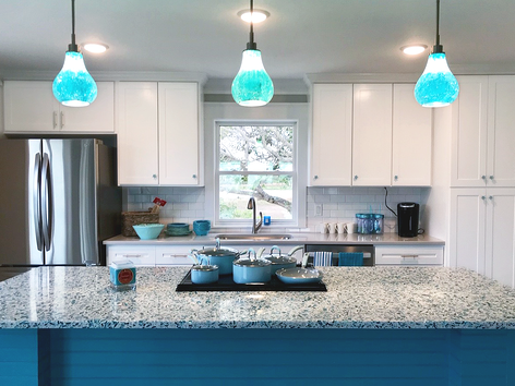 Vetrazzo_recycled_glass_countertops_floating_blue_college_station_texas1