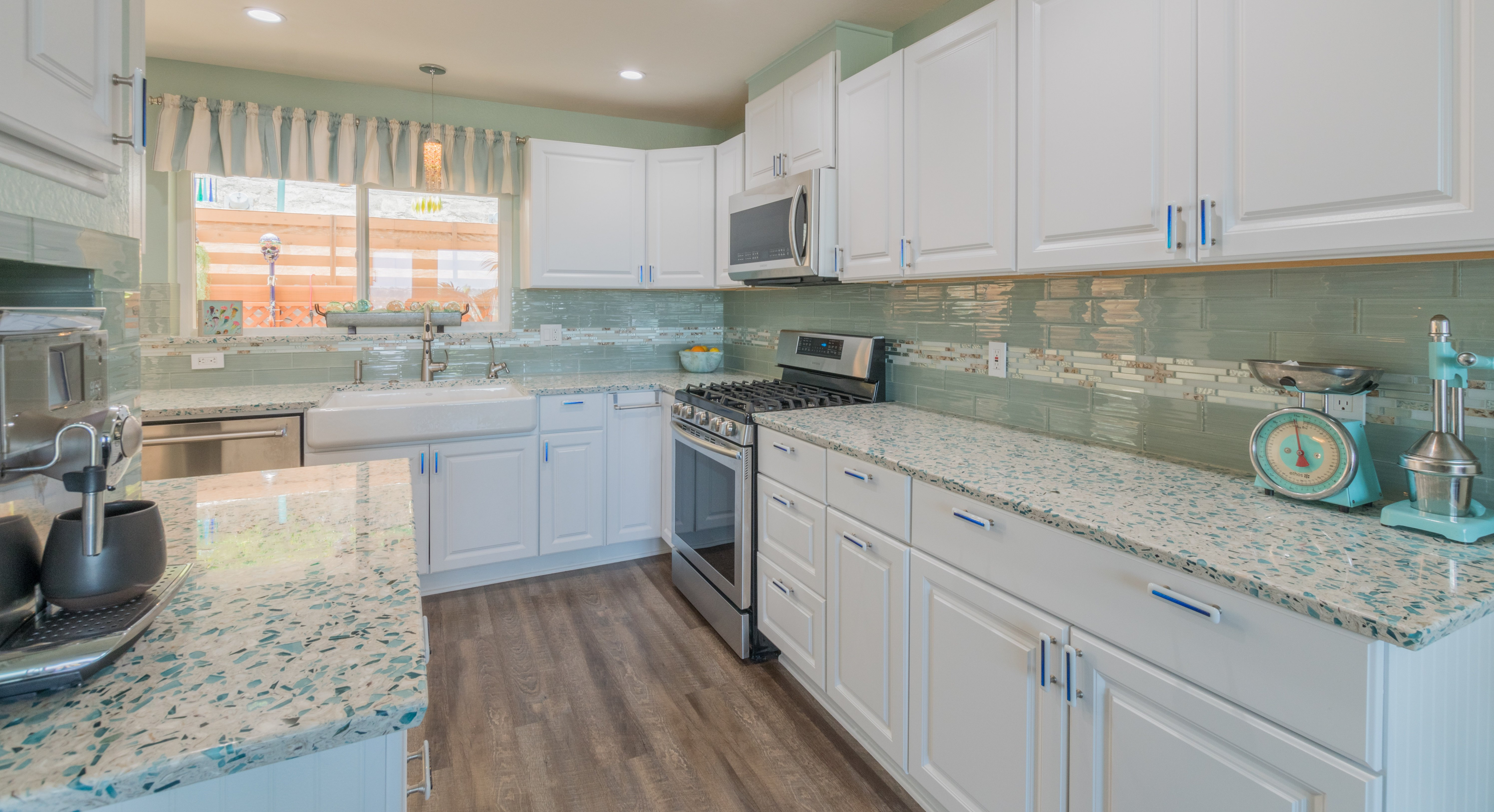 - Cali Couple Brings The Beach Inside For A Coastal Kitchen With