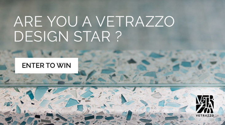 Vetrazzo recycled glass design star contest